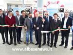 Inaugurato ad Alba il distributore di Egea e Bragas che eroga anche metano (Foto)