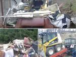 Interventi a Vaglierano e Valleversa dei Volontari della Protezione Civile Asti