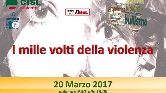 """Lunedì a Torino il seminario """"I mille volti della violenza"""""""
