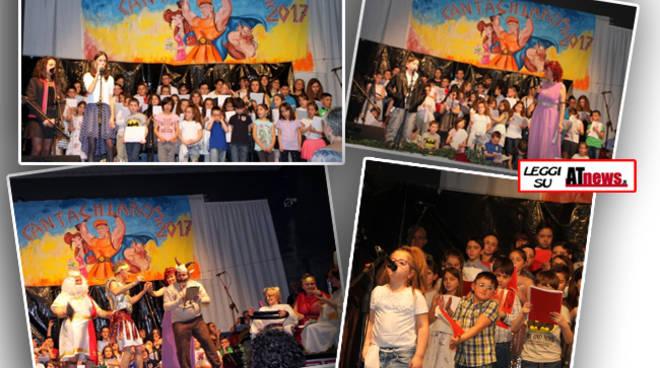 Montechiaro, festa colorata con i ragazzi dell'oratorio al Cantachiaro