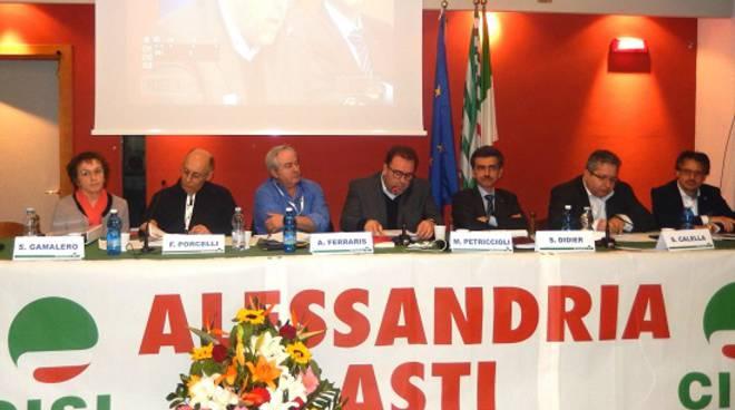 Sergio Didier confermato alla guida della Cisl Alessandria-Asti