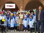 Sfilata di carri allegorici a Castelnuovo Belbo: vince Frugarolo con la storia di Pinocchio