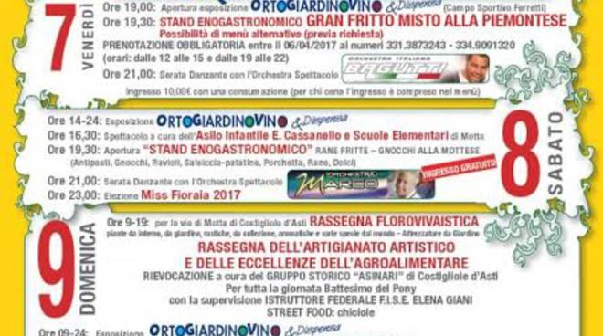 """A Motta di Costigliole d'Asti arriva """"Ortogiardinovino & Dispensa"""""""
