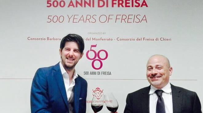 Al Vinitaly si festeggiano i 500 anni del Freisa