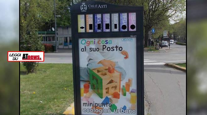 Ambiente Asti, ecco tutti i  nuovi minipunti ecologici in città