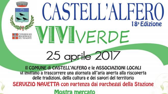 """Castell'Alfero: la fiera """"VIVIverde"""" compie 18 anni"""