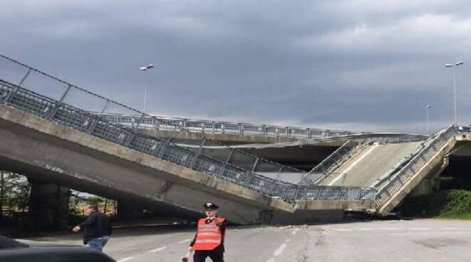 """Crollo del ponte a Fossano, Chiamparino e Balocco: """"non è accettabile esporre a questi rischi la popolazione"""""""