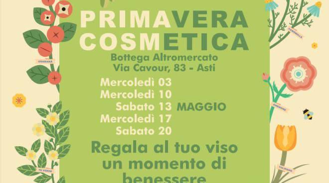 Dal 3 maggio ad Asti la primaVERA cosmETICA