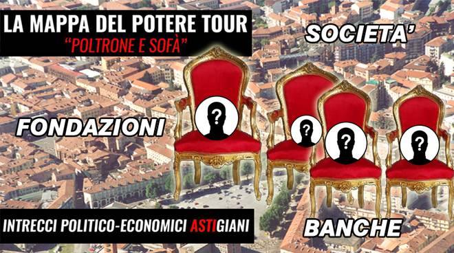 """""""La Mappa del Potere ad Asti"""": quarto appuntamento con il tour del Movimento 5 Stelle"""