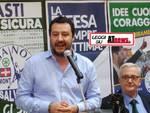 """Matteo Salvini ad Asti: """"Mi chiamano populista ed esserlo per me è un vanto"""""""