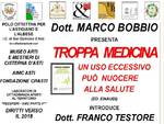 Troppa medicina: se ne parla a Cisterna d'Asti con Marco Bobbio e Franco Testore