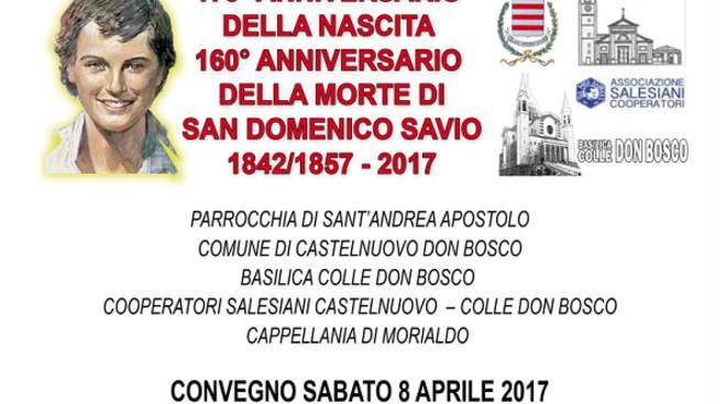 Un convegno a Castelnuovo don Bosco in ricordo di San Domenico Savio