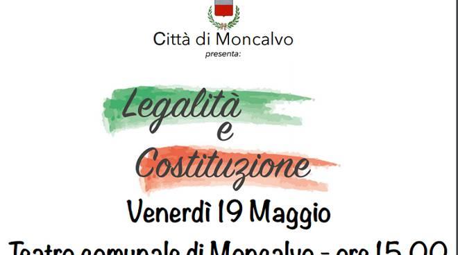 """A Moncalvo la Seconda edizione di """"Legalità e Costituzione"""""""