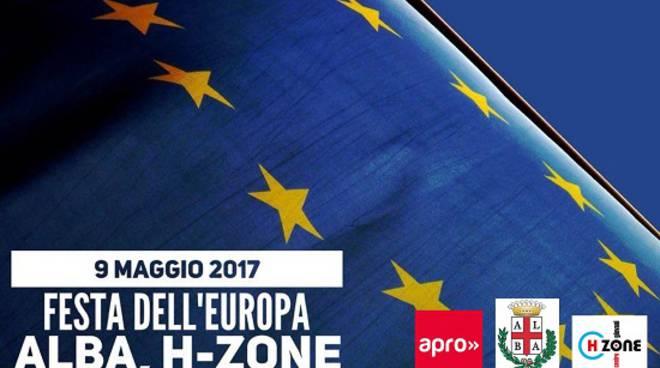 Alba: Festa dell'Europa 2017 al Centro Giovani H-Zone