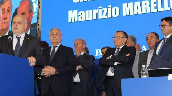 Alba: il Sindaco Maurizio Marello all'assemblea di Banca d'Alba