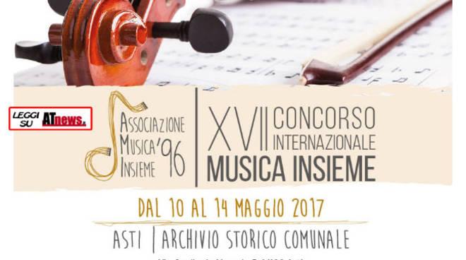Asti, al via il XVII° Concorso Internazionale Musica Insieme