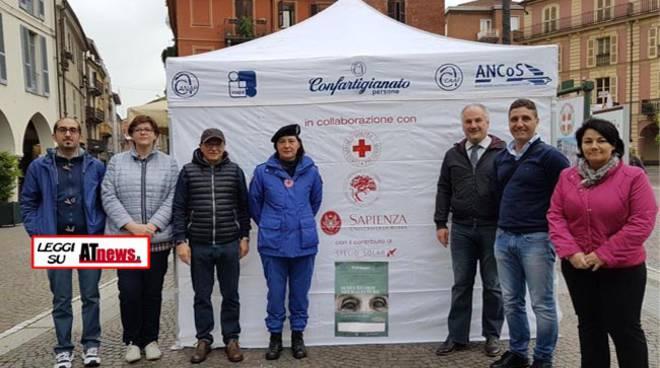 Asti, Confartigianato  e ANCoS  in piazza per la Giornata Nazionale dell'Alzheimer