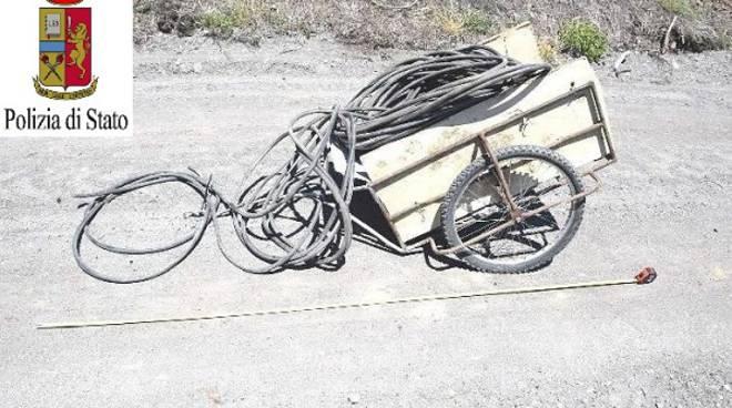 Asti, sventato dalla Polizia un tentato furto di rame