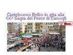 Castelnuovo Belbo in gita alla 66ª Sagra del pesce a Camogli