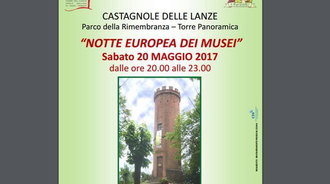 Domani sera a Castagnole delle Lanze la Notte Europea dei Musei