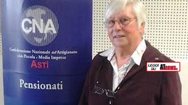 Giovanna Grillone riconfermata alla presidenza della CNA Pensionati di  Asti