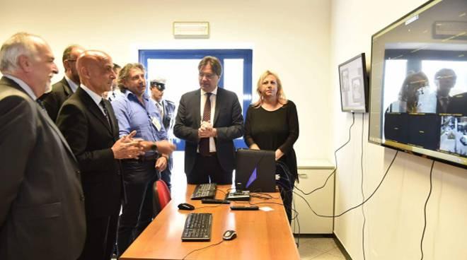 Il Ministro dell'Interno Minniti alla Polizia Municipale di Asti per visionare le nuove telecamere di Asti