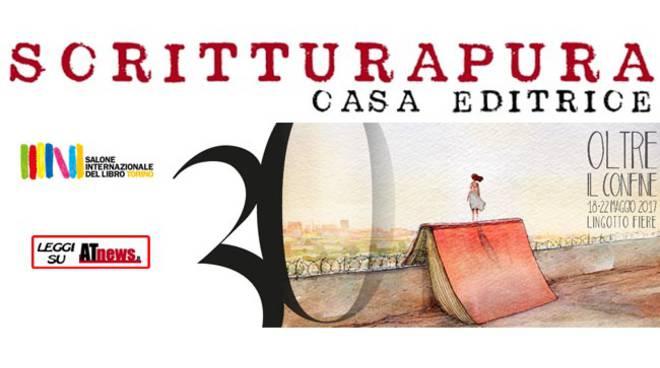 La Casa Editrice astigiana Scritturapura al Salone Internazionale del Libro di Torino