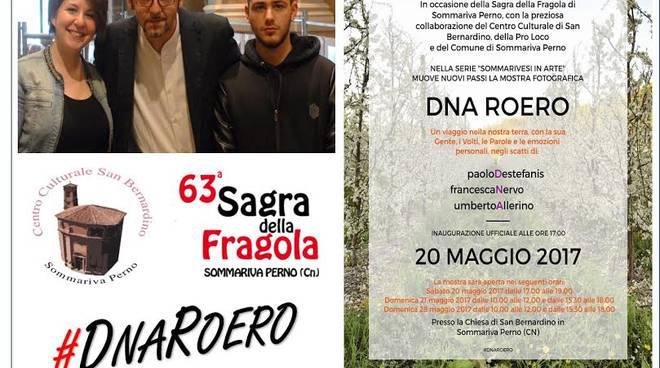 "La mostra fotografica ""DNA Roero"" a Sommariva Perno per la sagra della fragola"