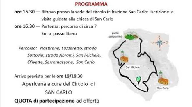 """La """"Passeggiata delle Rose"""" a San Carlo di Costigliole d'Asti"""