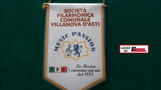 La SFC Villanova d'Asti in concerto in occasione della fine dei corsi musicali