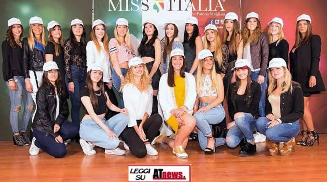 Miss Italia: anche l'astigiana Carola Briola ai casting di Vinovo