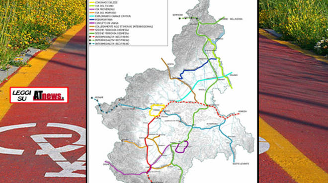 Regione: undici studi di fattibilità per lo sviluppo delle ciclabili in Piemonte