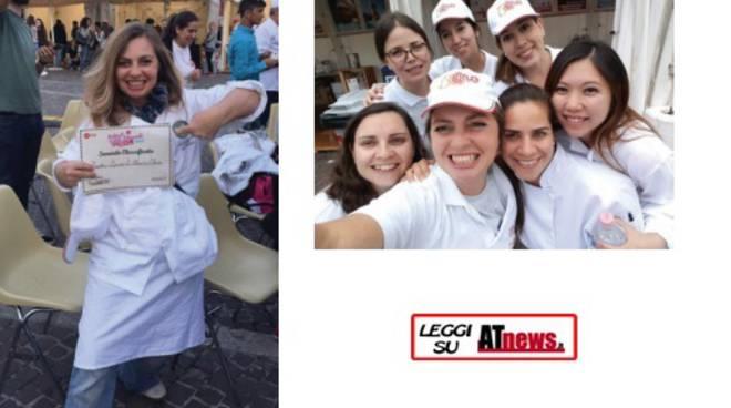 Studentessa dell'ICIF di Costigliole d'Asti al secondo posto al Festival del Gelato artigianale di Pesaro