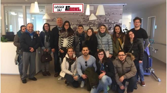 Trasferta in Belgio per un gruppo di studenti di Infermieristica di Astiss
