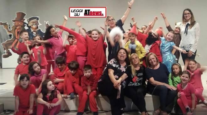 Alunni della scuola Giuliani di Canelli hanno portato in scena Pinocchio