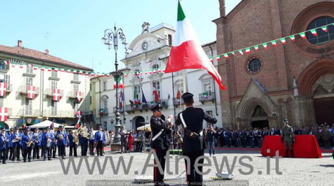 Asti, festeggiato l'anniversario della Proclamazione della Repubblica (foto)