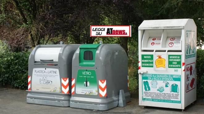 Asti, i cassonetti stradali piacciono ai cittadini e fanno aumentare la raccolta differenziata