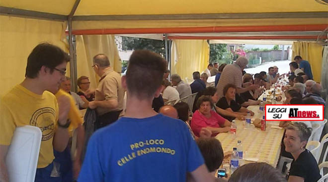 """Celle Enomondo, grande successo per la """"Pizza a Merlazza"""""""