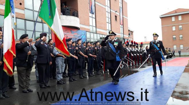 Festeggiato al Comando Carabinieri di Asti il 203°anniversario della Fondazione dell'Arma (foto)