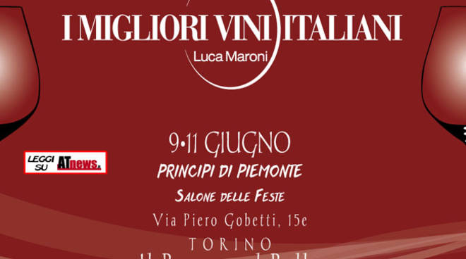 I vini del Consorzio Barbera d'Asti protagonisti dell'evento I migliori vini italiani