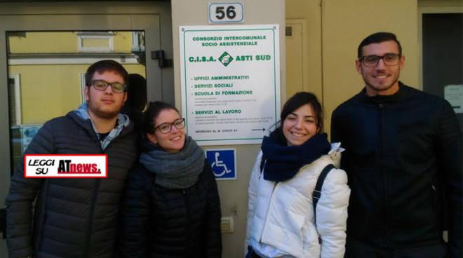 """""""Noi ci siamo!"""": il nuovo progetto di Servizio Civile Nazionale del Consorzio C.I.S.A. Asti Sud"""