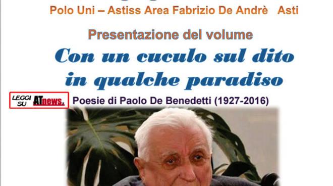 Uniastiss, il 16 giugno la presentazione del libro di Paolo De Benedetti