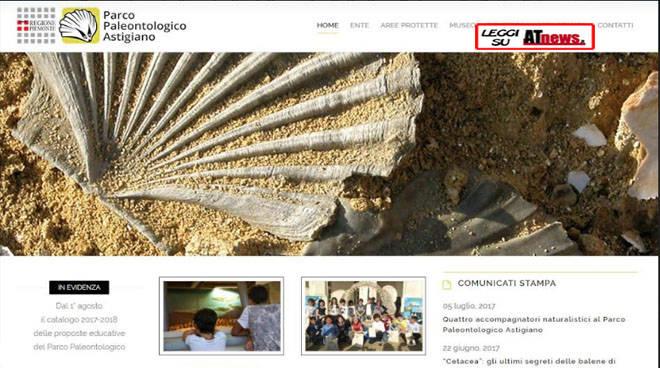 Nuovo sito web e pagina Facebook per il Parco Paleontologico Astigiano