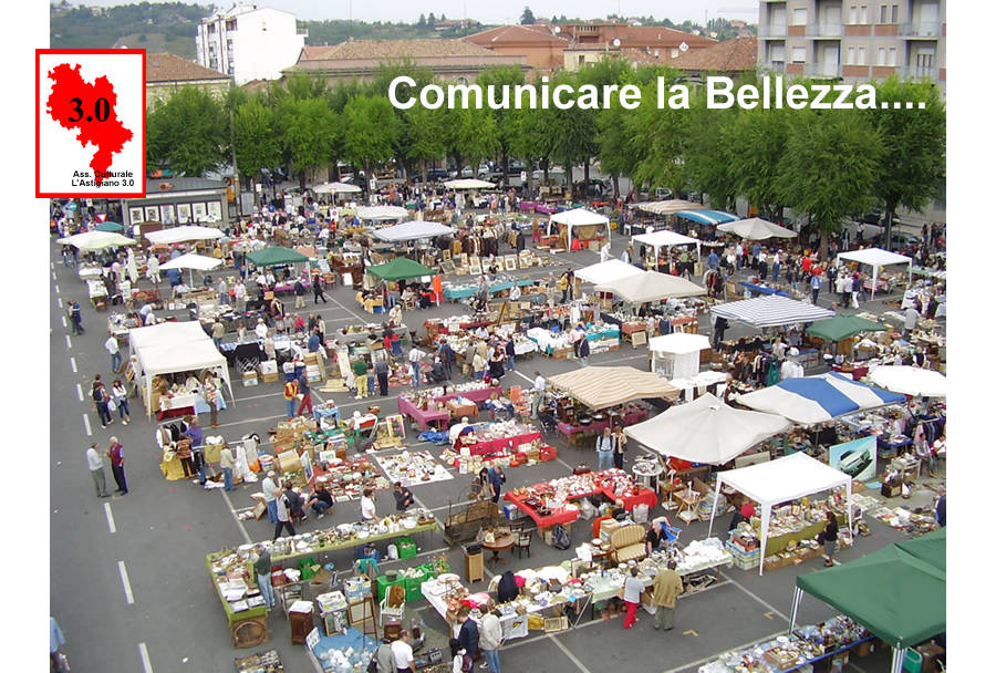 Comunicare la Bellezza: Mercatino dell'Antiquariato Nizza Monferrato