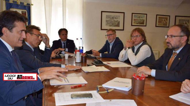 Ufficio Di Presidenza : Il sindaco rasero ricevuto dallufficio di presidenza dellanci