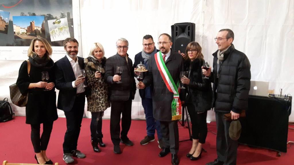 Inaugurazione Fiera Tartufo Asti 2017