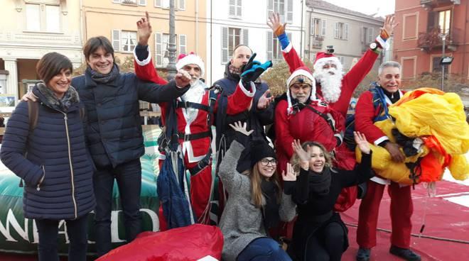 Babbo Natale viene dal cielo - Asti 2017