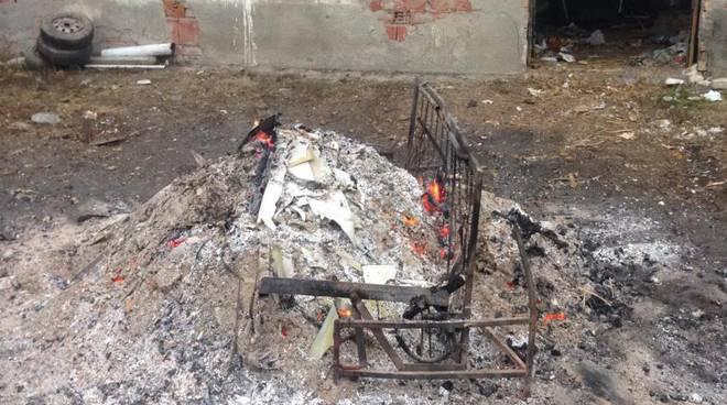 rifiuti bruciati montabone