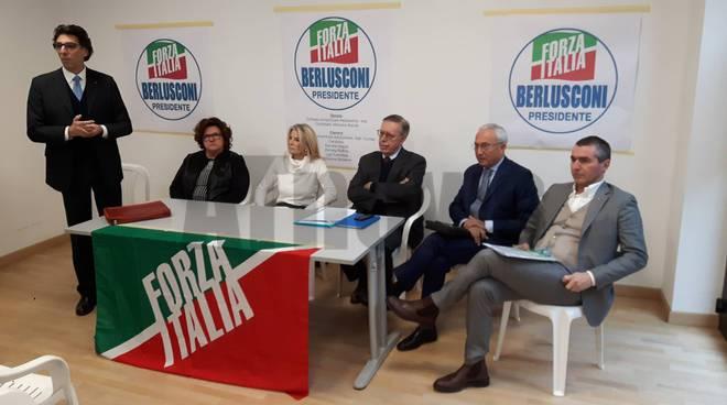 presentazione candidati forza italia