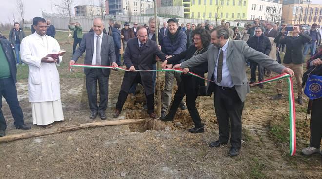 Inaugurazione Giardino della Salute Asti